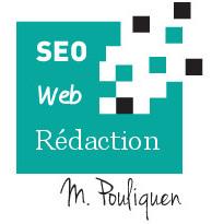 Logo rédacteur web freelance - Expert SEO - Marie Pouliquen
