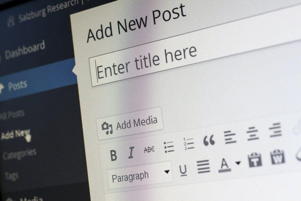 Redaction et animation blog d'entreprise