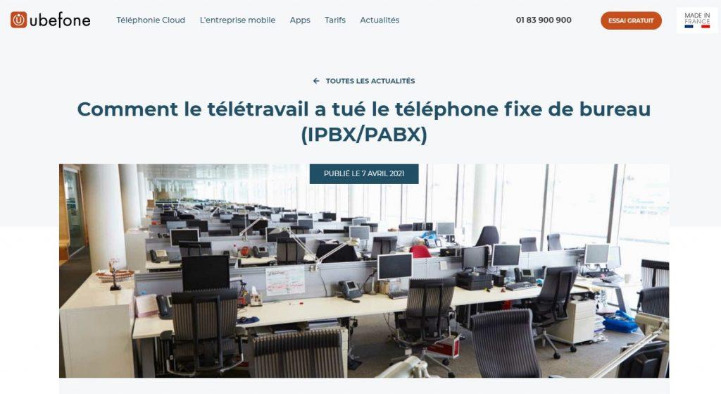 rédaction article de blog - Redacteur freelance Telecom